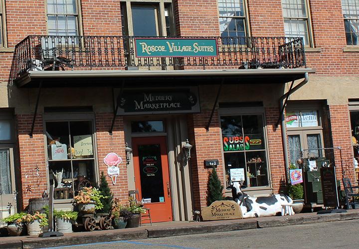 Medbery_Marketplace_Coshocton_Ohio_Roscoe_Village-history